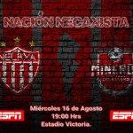 Necaxa vs Mineros de Zacatecas en Vivo Copa MX 2017