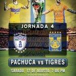 Partido Pachuca vs Tigres hoy Liga MX 2017