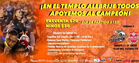 Alebrijes vs Mineros en Vivo por ESPN  Ascenso MX 2018