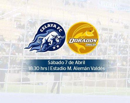 partido Celaya vs dorados en Vivo Ascenso MX 2018