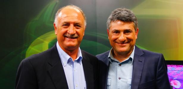 "Luis Felipe Scolari fala da conquista do Penta a Cleber Machado no ""Esporte Espetacular"" (12/07/2012)"