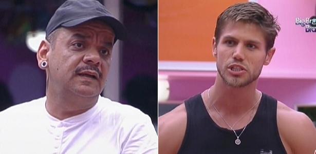 João Carvalho e Jonas discutem na cozinha (13/2/12)
