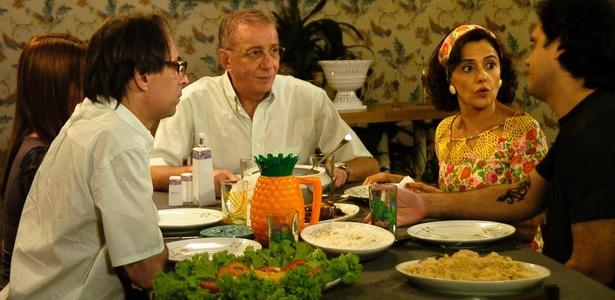 Cena de A Grane Família da Globo (2010)