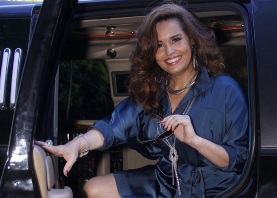 Suzy Rêgo na gravação de Morde & Assopra no Alto da Boa Vista (9/2/11)