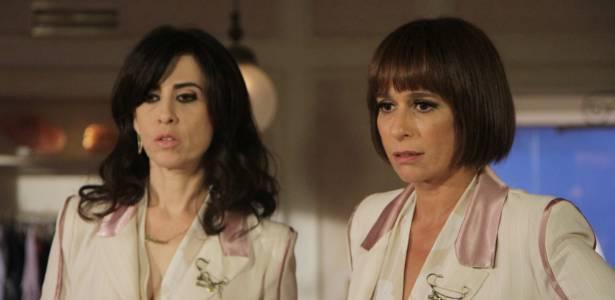 Fernanda Torres e Andrea Beltrão em cena de Tapas e Beijos (9/8/2011)