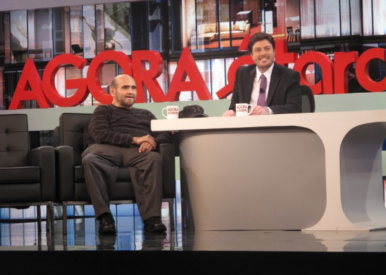 Intérprete De Sr. Barriga é Entrevistado Por Danilo