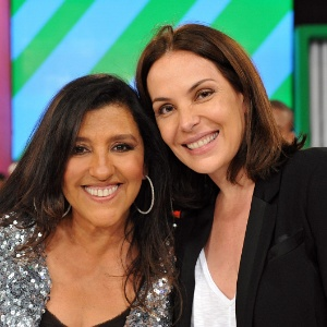 "Regina Casé entrevista Carolina Ferraz no ""Esquenta!"" (12/2/12)"