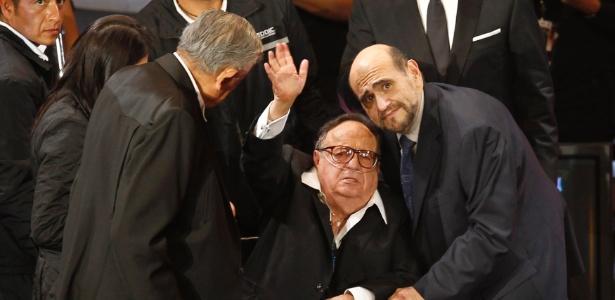 Roberto Gomez Bolaños agradece homenagem feita no México (29/2/12)