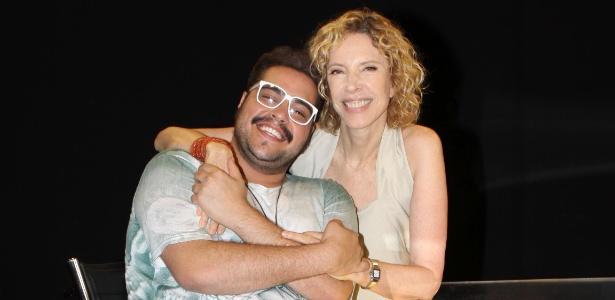 """Tiago Abravanel no programa """"De Frente Com Gabi"""" de Marília Gabriela"""
