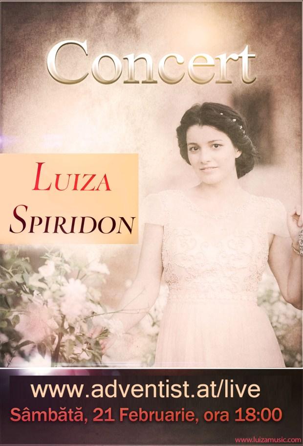 Concert Luiza Spiridon - Viena Feb 21 2015
