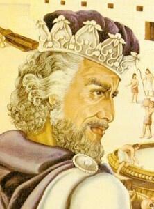 king of Iehoshaphat