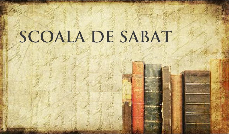5.3 Unitatea Scripturii – st5 Sola Scriptura