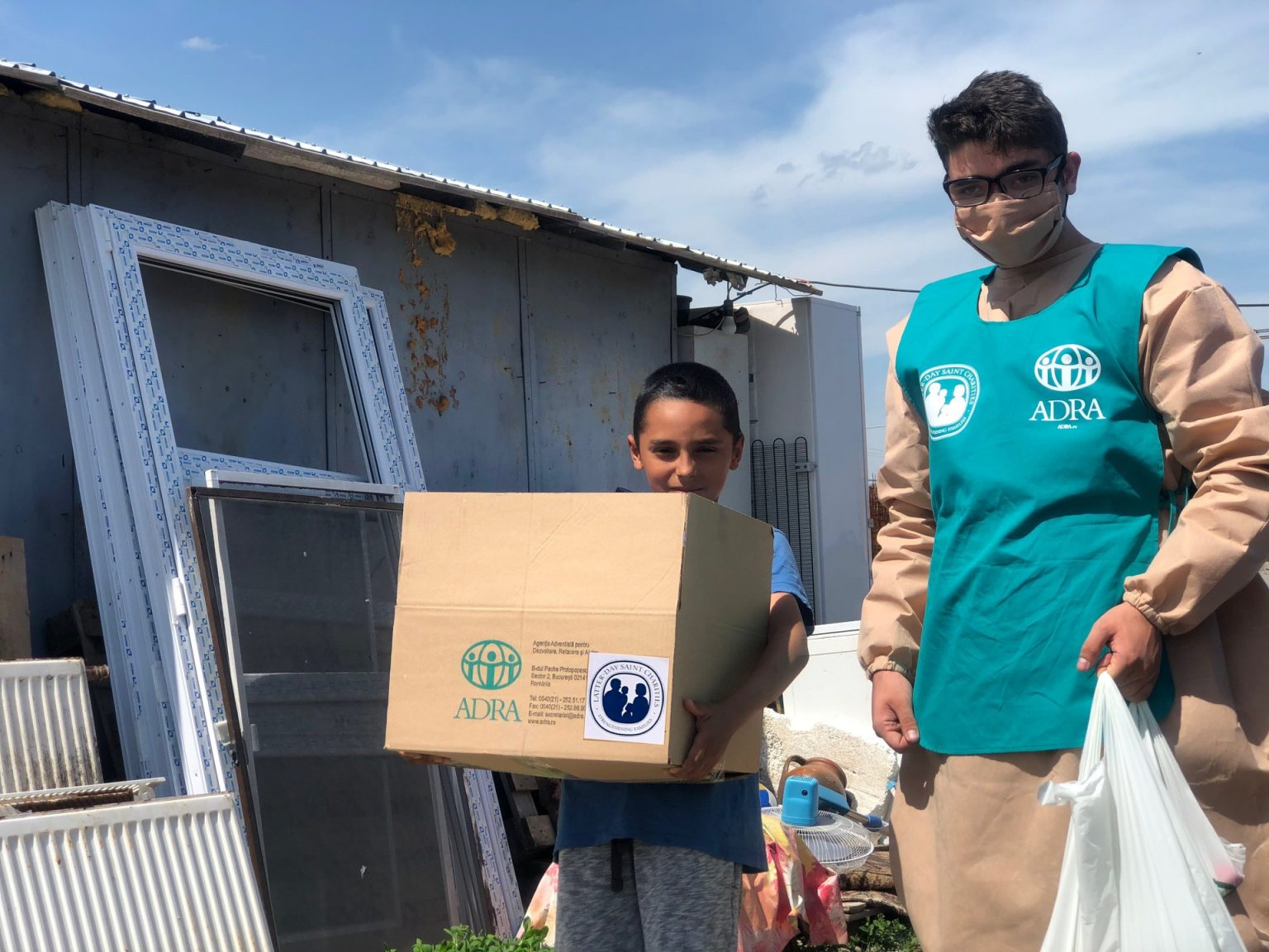 """1.455 de persoane primesc ajutor în cea de-a 24-a săptămână de implementare a proiectului ADRA """"Sprijin umanitar COVID-19"""""""