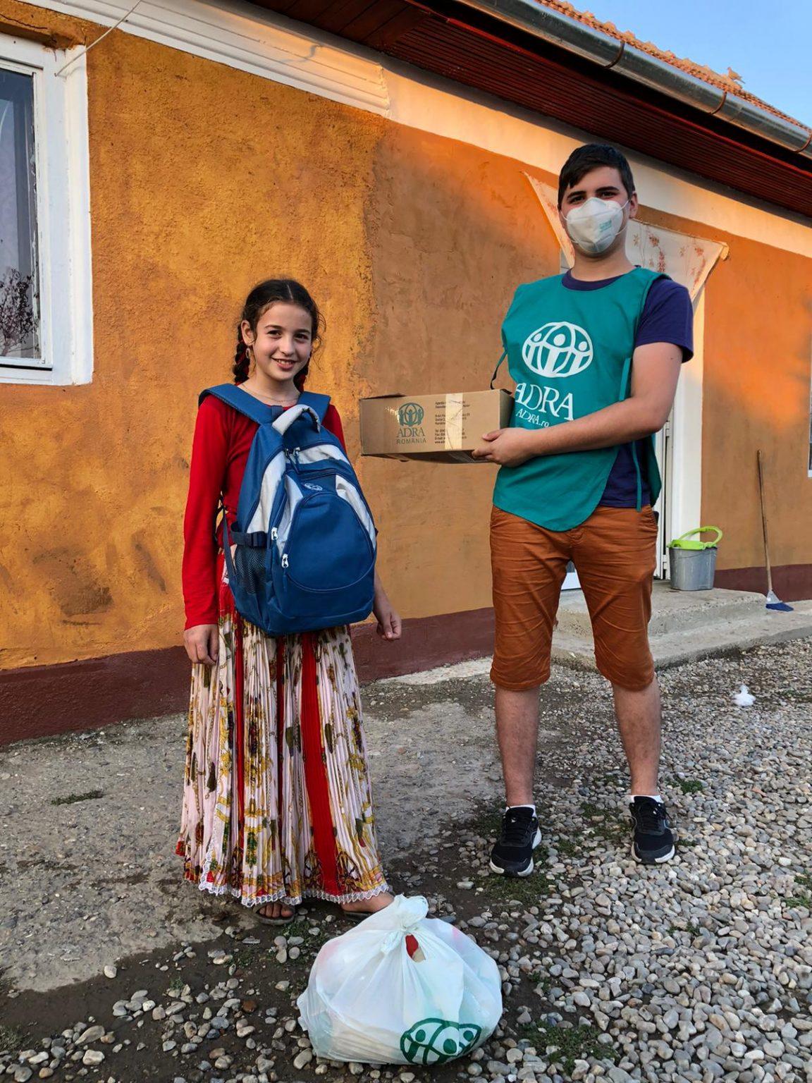 """1.584 persoane primesc ajutor în cea de-a 30-a săptămână de implementare a proiectului ADRA """"Sprijin umanitar COVID-19"""""""