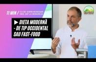 🍔 Dieta Modernă – de Tip Occidental sau Fast Food | Dr. Moroșan Sorin [2021] part.17.