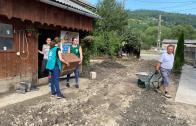 """În urma inundațiilor din județul Alba, ADRA România continuă intervenția umanitară de urgență prin proiectul """"Pod peste ape"""""""
