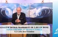 5.2 Liebe den Fremden – DER FREMDE IN DEINEN TOREN | Pastor Mag. Kurt Piesslinger