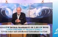 5.5 Ein reiner und unbefleckter Gottesdienst vor Gott – DER FREMDE IN DEINEN TOREN | Pastor Mag. Kurt Piesslinger