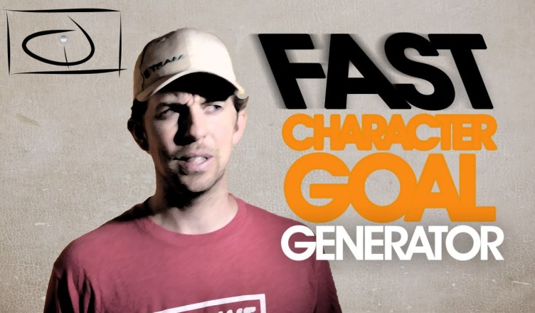 fast character goal generator tips jared isham blog and shop
