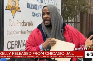 r kelly released form jail