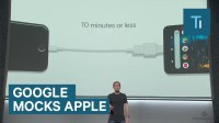 Google made fun of Apple products  even the new iPhone