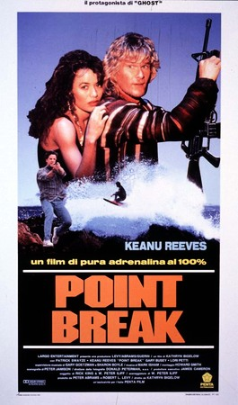 Point Break - Punto di rottura Stasera su TV8