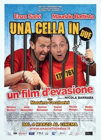 Una cella in due Stasera su Italia 2