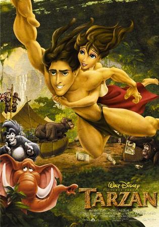 Tarzan Stasera su Italia 1