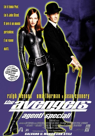 The Avengers Stasera su Rai 4