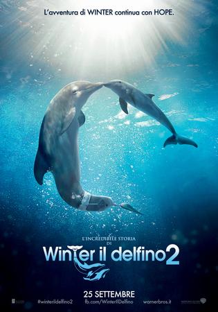 L' incredibile storia di winter il delfino 2  Stasera su Italia 1