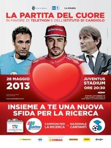 La partita del cuore 2013