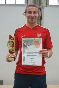 Cedric Flinkerbusch - Vereinsmeister B-Klasse