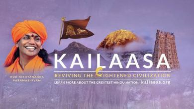 "Photo of ఏకంగా దేశాన్నే కొనేసాడు. Nityananda forms own nation ""KAILASA"""
