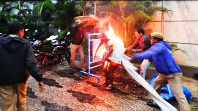 Photo of హైదరాబాద్ లో ఘోర సంఘటన. Women set herself on fire in Hyderabad