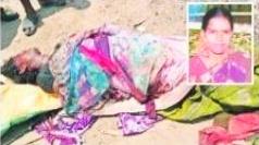 Photo of దారుణంగా భార్యని హత్య చేసిన భర్త, Husband murdered his wife