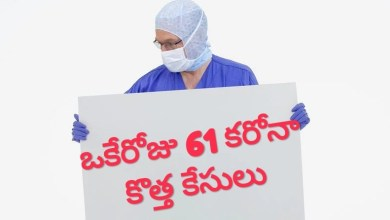 Photo of తెలంగాణలో కరోనా విజృంభణ,ఒకే రోజు 61 కేసులు, 61 carona cases in TS