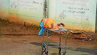 Photo of వరంగల్ లో ఘోర సంఘటన, family left deadbody at hospital