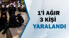 Adana otogarında silahlı sopalı kavga!