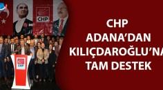 CHP Adana İl Başkanlığı büyük kurultay öncesi açıklama yaptı