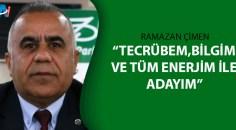 Ramazan Çimen ASKF başkanlığına adaylığını açıkladı