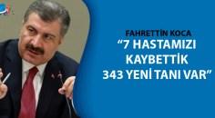 Sağlık Bakanı Koca son rakamları açıkladı!