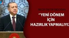 Cumhurbaşkanı Erdoğan'dan pandemi açıklaması