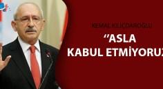 Kılıçdaroğlu Twitter'den tepki gösterdi