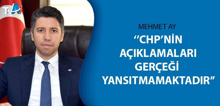 AK Parti İl Başkanı Mehmet Ay açıklama yaptı
