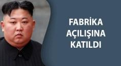 Kuzey Kore lideri Kim ortaya çıktı