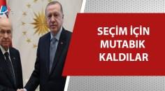 Cumhurbaşkanı Erdoğan-Bahçeli görüşmesinin perde arkası