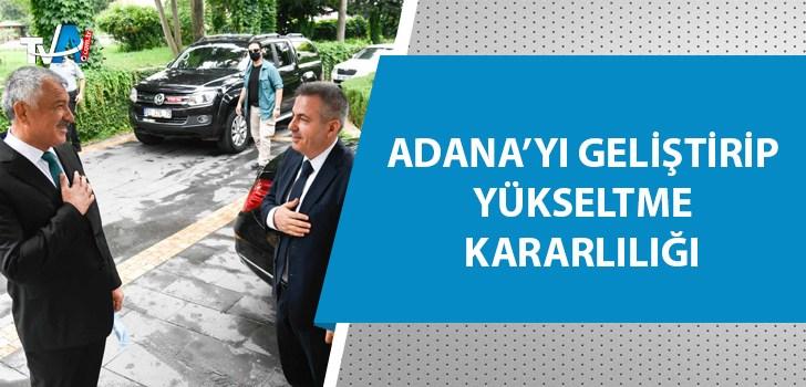 Vali Elban Başkan Karalar'ı ziyaret etti