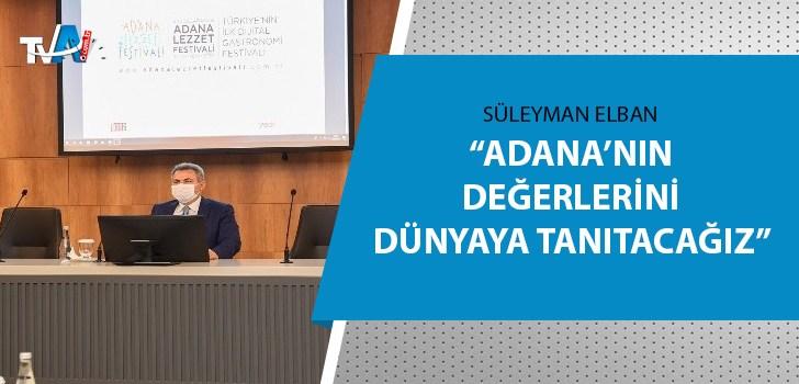 Türkiye'nin ilk dijital gastronomi festivali Adana'da yapılacak