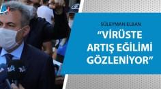 Adana Valisinden maske ve sosyal mesafe denetimi!