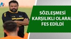 Adanaspor Fatih Akyel ile yollarını ayırdı